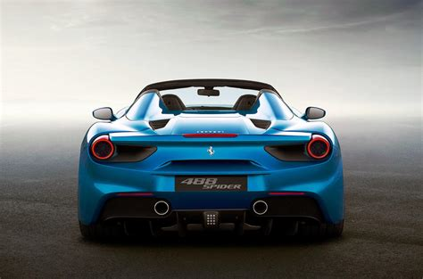 2016 Ferrari 488 Spider revealed - new pictures and video