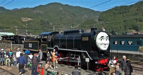 Real-Life Thomas the Tank Engine Spotted in Japan