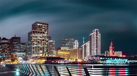Nightscape San Francisco Wallpapers   HD Wallpapers   ID