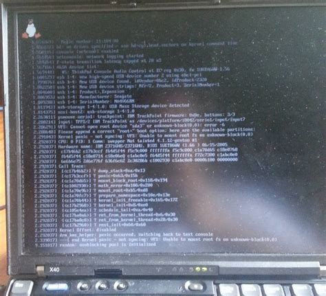boot - Kernel panic after Gentoo install -- cannot open