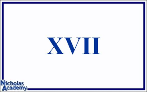 Roman Numeral Flash Cards 10 to 18