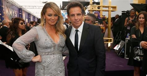 Ben Stiller and Christine Taylor Looked 'Happy' at the