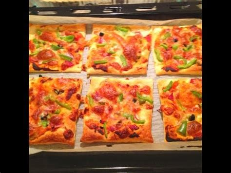 Puff Pastry Mini Pizzas | One Pot Chef - YouTube