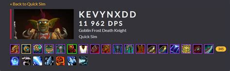 Why does every top tier DK use unholy when frost sims