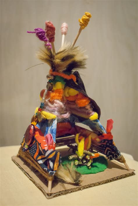 Indian tipi_together with the child_children's creativity