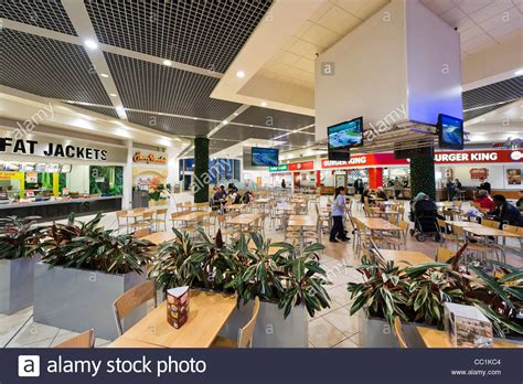 Food Court at the Lowry Outlet Mall shopping centre
