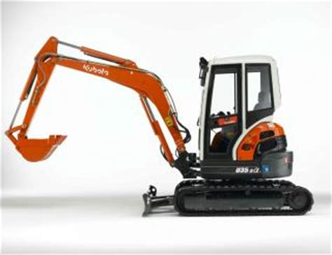 Kubota Mini Excavators find out all the technical