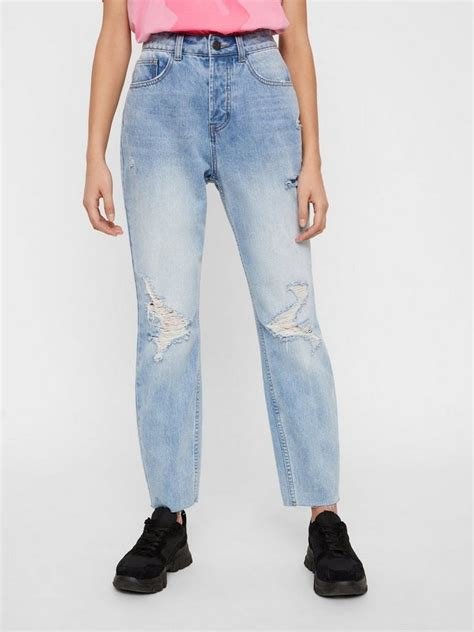 Noisy may NMISABEL High Waist Destroyed Mom Jeans | OTTO