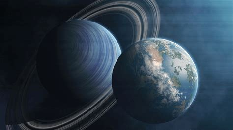 Free Earth, Planet, Ring System, Atmosphere 4K Ultra HD