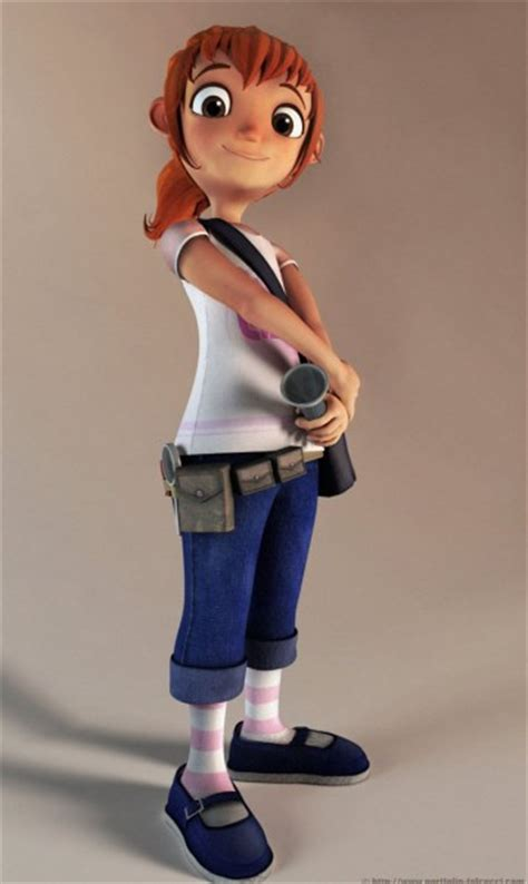 18 Creative 3D Cartoon Character Designs by Andrew