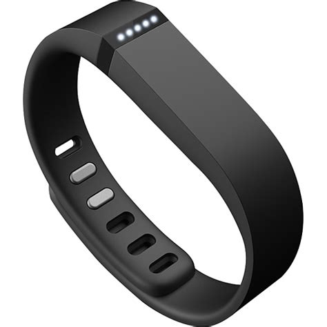 Wear this Fitbit Flex FB401BK wristband to monitor steps