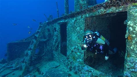 Famous SS Thistlegorm and Dunraven Red Sea wrecks, at