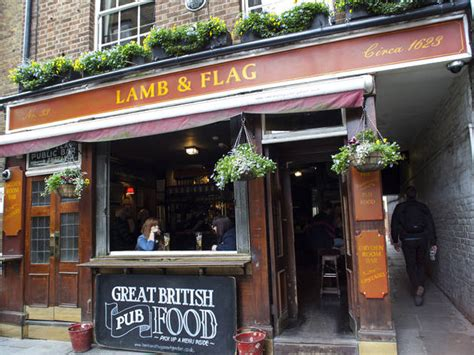 Lamb & Flag | Bars and pubs in Covent Garden, London
