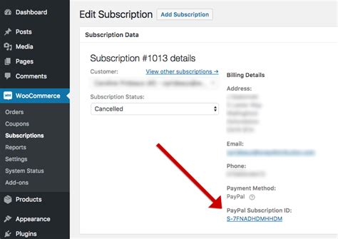 Why aren't Subscriptions Cancelled or Suspended at PayPal