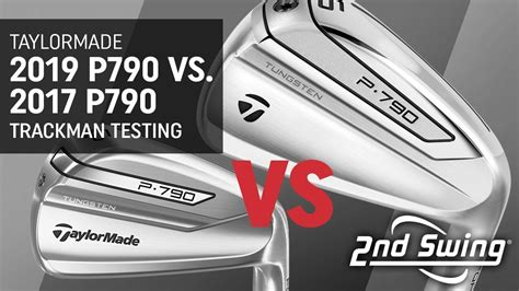 Trackman Test: TaylorMade 2019 P790 vs
