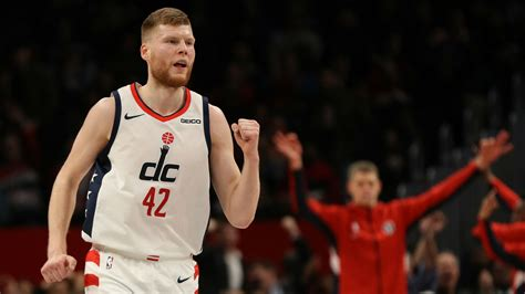 Davis Bertans is thriving with the Wizards — and making