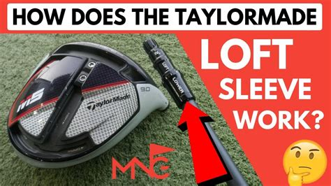 How Does The TaylorMade M5 M6 Loft Sleeve Work? - YouTube